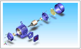We are Manufacturer & exporters in A C Motors in India.